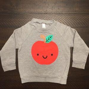 Whistle & Flute Kawaii Apple Sweatshirt
